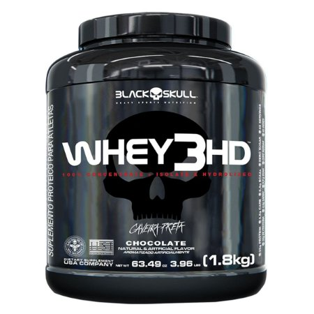 Whey 3hd (900g / 1,8kg) - Black Skull