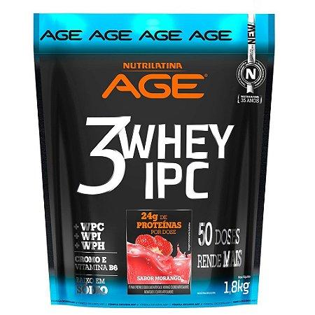 3 Whey IPC - Nutrilatina AGE (1,8kg)