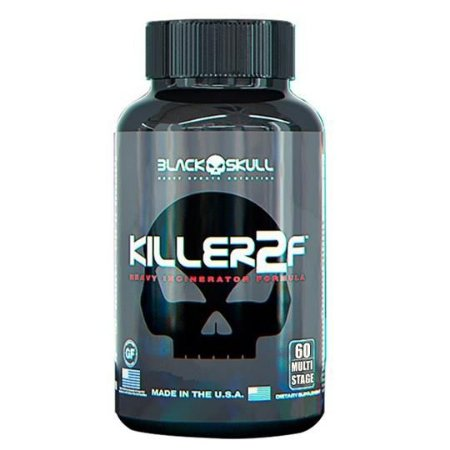 Killer2F - Black Skull (60 caps / 120 caps)