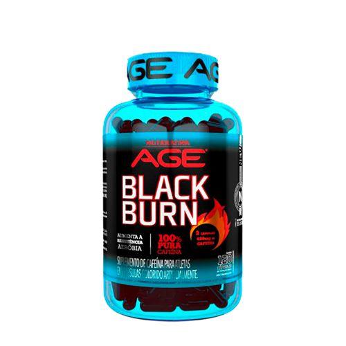 Black Burn Termogênico - Nutrilatina AGE (120 caps)