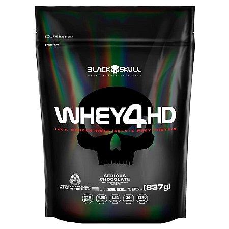Whey 4HD REFIL - Black Skull (837g / 2,2kg)
