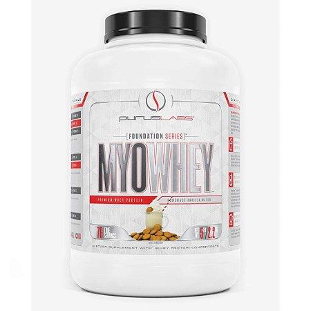 MyoWhey - Purus Labs - Premium Whey Protein (2,2kg)