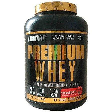 Premium Whey - Landerfit (2,3kg)