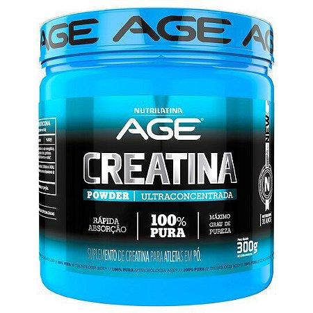 Creatina Powder Ultraconcentrada - Nutrilatina AGE (300g)
