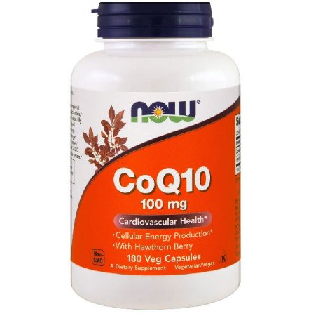 CoQ 10 100mg - NOW Foods (50 caps)