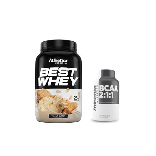 [ATHLETICA] Best Whey (900g) + BCAA 3:1:1 (60 caps)
