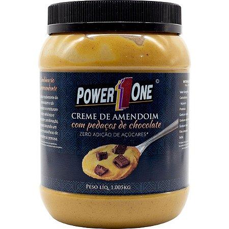 Creme de Amendoim - Power One (1kg)