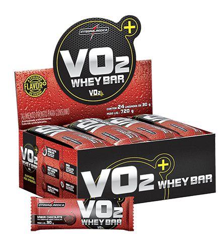 VO2 Whey Bar - Integralmédica (12un / 24un)