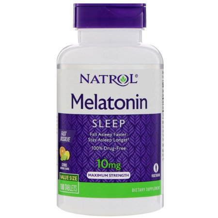 Melatonina 10mg - Natrol (100 caps)