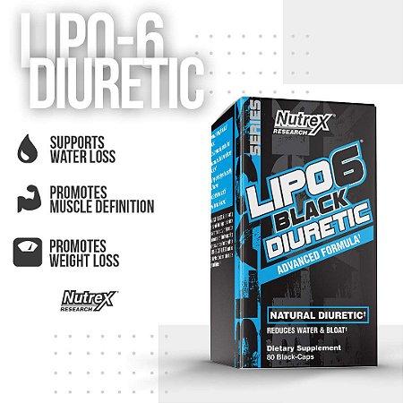 Lipo 6 DIURETIC - Nutrex (80 caps)