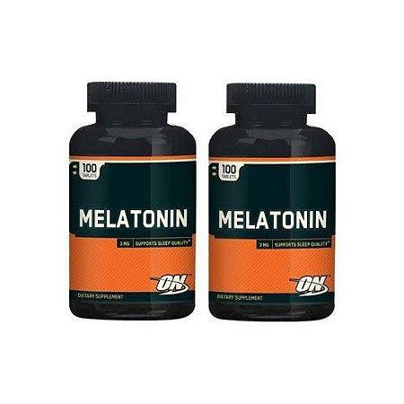 2x Melatonina (100 cápsulas) - Optimum