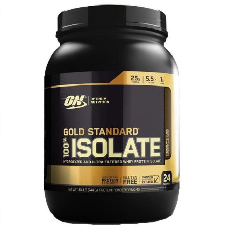 100% Whey Gold Standard ISOLADO - Optimum (744g)