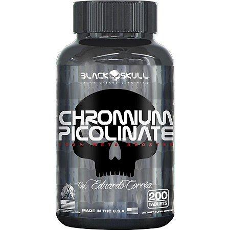 Picolinato de Cromo - Black Skull (200 caps)