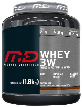 Whey 3W - Muscle Definition (900g / 1,8kg)