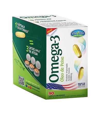 Omega 3 - Vitavale (90 caps)