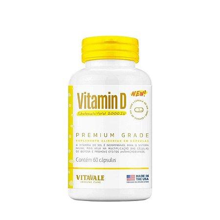 Vitamina D 2000ui - Vitavale (60 caps)