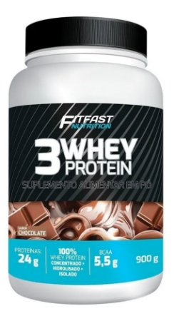 3 Whey Protein - Fit Fast (900g)
