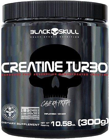 Creatina Turbo - Black Skull (300g)