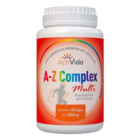 A-Z Complex Multi - ActiVida (60 caps)
