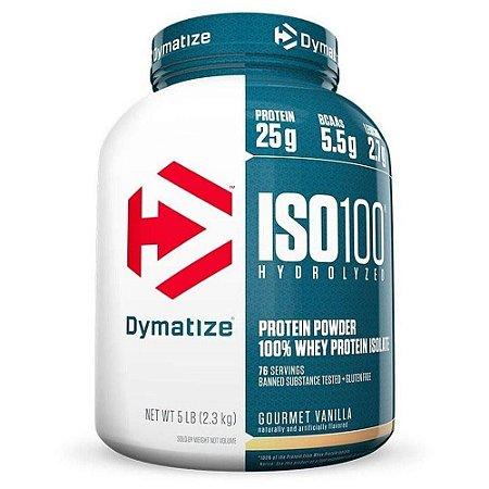 Whey ISO 100 Hidrolisado Isolado - 2,27kg - Dymatize Nutrition