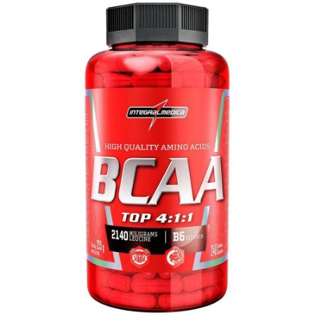 BCAA TOP - 240 caps - Integral Médica