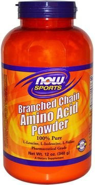 BRANCHED CHAIN AMINO ACID POWDER	340g	Now Sports Neutro