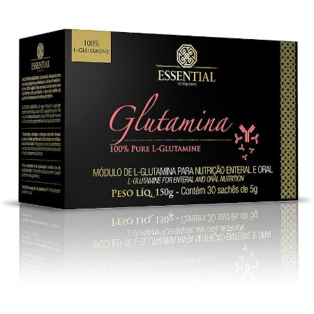 GLUTAMINA 100% PURE 30 sachês	Essential