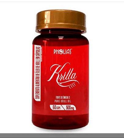 PHOLIAS - KRILLA - 60 CAPSULAS