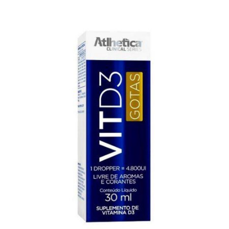 VIT D3 GOTAS 30 ml Athletica
