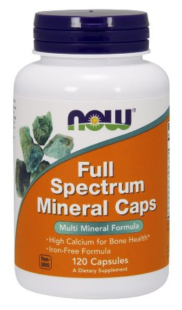 FULL SPECTRUM MINERAL CAPS 120 caps Now Sports