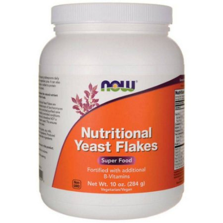 NUTRITIONAL YEAST FLAKES 284g Now Sports