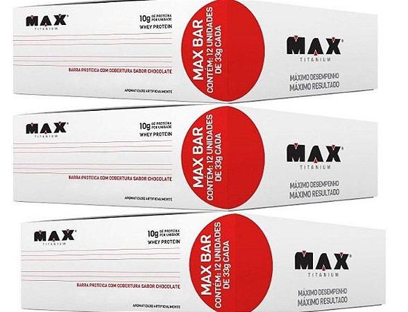 MAXBAR 12 unidades Max Titanium