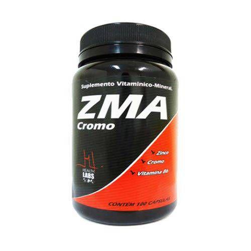 ZMA CROMO 100 Cápsulas Health Labs