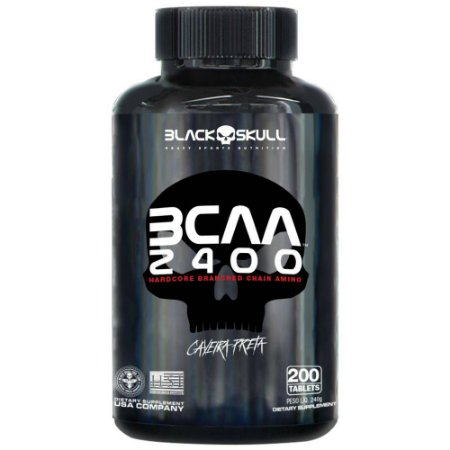 BCAA 2400 - 200 tablets Black Skull
