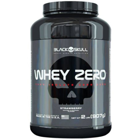 WHEY ZERO- 907g - Black Skull