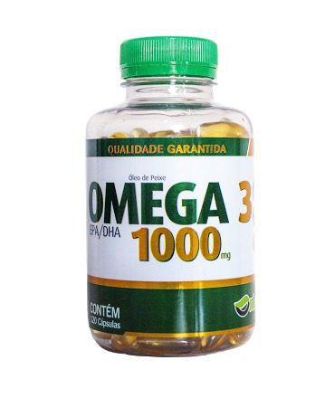 ÔMEGA 3 1000mg - NTS - 120 cápsulas