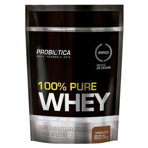 PURE 100% WHEY - 825g - REFIL | PROBIÓTICA