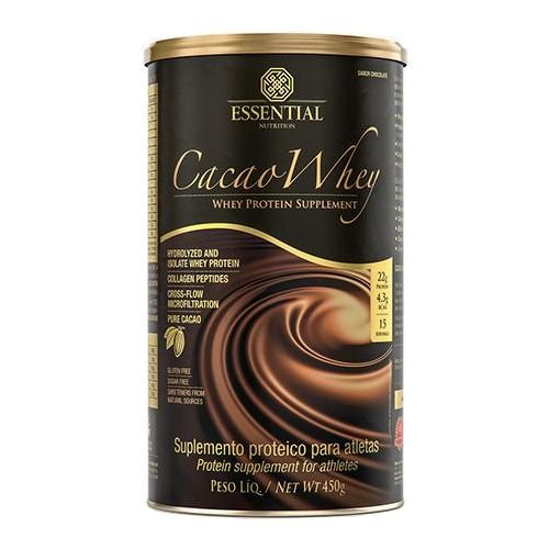 CACAO WHEY - LATA - ESSENTIAL NUTRITION