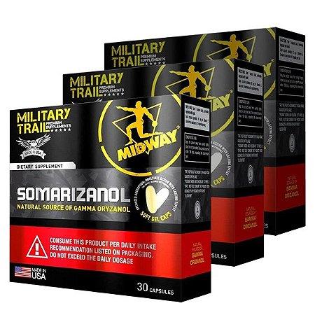 3 CAIXAS DE SOMARIZANOL 30 CAPS - Midway