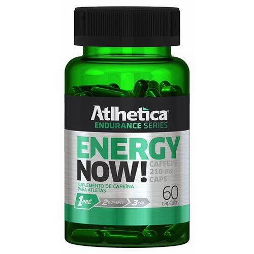 ENERGY NOW - 60 CAPS - ATLHETICA