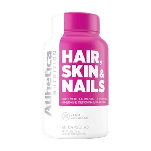 HAIR SKIN & NAILS - 60 CAPS - ATLHETICA