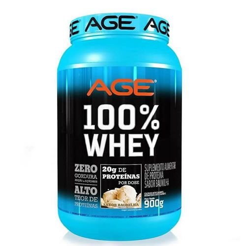 AGE 100% WHEY - 900g