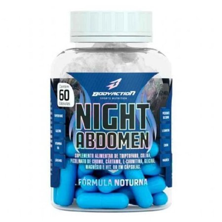 BODYACTION - NIGTH ABDOMEN - 60 COMPRIMIDOS