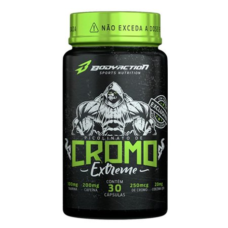 BODYACTION - CROMO EXTREME - 30 CAPSULAS