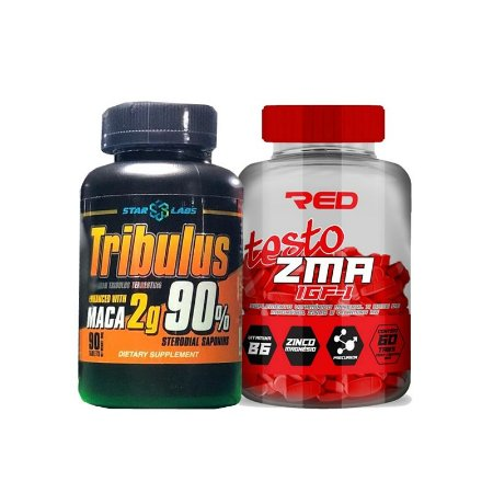 TRIBULUS 2g 90 TABS | STAR LABS + ZMA RED SERIES