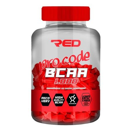 BCAA RED SERIES - 120 CAPS