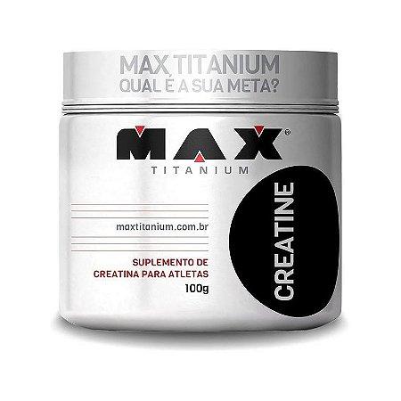CREATINE - 100G MAX TITANIUM