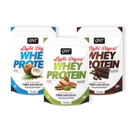 WHEY PROTEIN LIGHT DIGEST - 500G - QNT + CREATINA MUSCLETECH