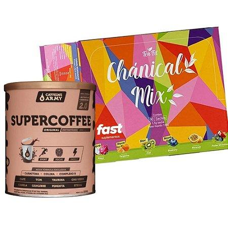 Supercoffee 2.0 + Chanical Mix  Diurético 90 Sashês
