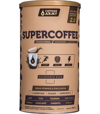 Supercoffee Caffeine Army 380g Economic Size